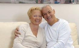 Beaux couples aînés. Image stock