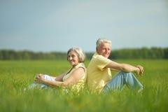 Beaux couples aînés Photographie stock