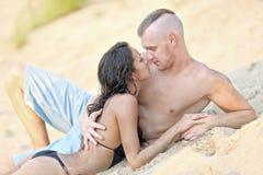 Beaux couples dans l'amour Photographie stock libre de droits