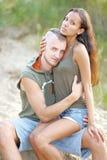 Beaux couples dans l'amour Photos stock