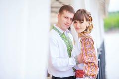 Beaux couples dans l'amour photos dans des tons doux Image libre de droits
