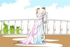 Beaux couples dans l'humeur romantique Images stock