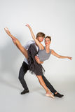 Beaux couples de ballet image stock