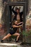 Beaux couples de la danse d'artistes professionnels Photos libres de droits