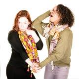 Beaux couples femelles modernes Image libre de droits