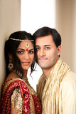 Beaux couples indiens Image stock
