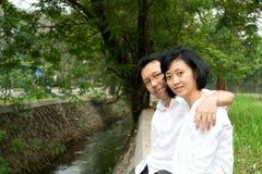 Beaux couples mûrs Photos libres de droits