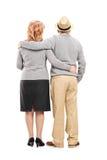 Beaux couples mûrs Image libre de droits