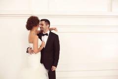 Beaux couples nuptiales Photos libres de droits
