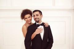 Beaux couples nuptiales Image libre de droits