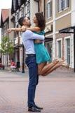Beaux couples romantiques Images libres de droits