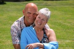 Beaux couples romantiques Images stock