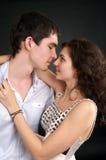 Beaux couples sexuels dans l'amour Photo stock