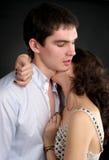 Beaux couples sexuels dans l'amour Photos libres de droits