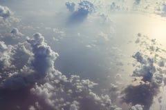 Beaux cumulus images libres de droits