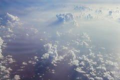 Beaux cumulus image stock
