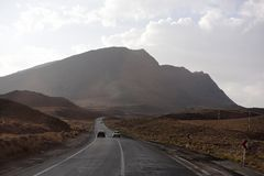 Beaux déserts en Iran photo stock