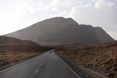 Beaux déserts en Iran photo libre de droits