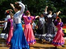 Beaux danseurs espagnols Photo libre de droits