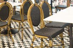 Beaux ensembles colorés de siège utilisés dans les boutiques Photo libre de droits