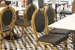 Beaux ensembles colorés de siège utilisés dans les boutiques Photos stock