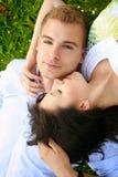 Beaux et heureux couples Photographie stock libre de droits