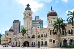 Beaux extérieurs de Sultan Abdul Samad Building Photos libres de droits
