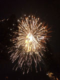 Beaux feux d'artifice photo libre de droits