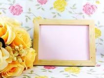 Beaux fleur et espace libre pour l'espace pour l'inscription Photos libres de droits