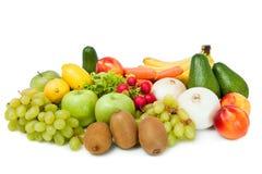 Beaux fruits et légumes images stock