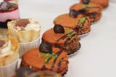 Beaux gâteaux photographie stock