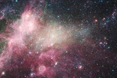 Beaux galaxie et groupe d'?toiles pendant la nuit de l'espace illustration de vecteur