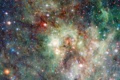 Beaux galaxie et groupe d'?toiles pendant la nuit de l'espace images stock