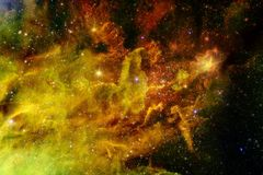 Beaux galaxie et groupe d'?toiles pendant la nuit de l'espace photos libres de droits