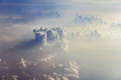 Beaux grands cumulus image libre de droits