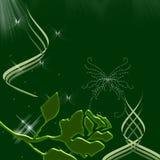 Beaux guindineaux et étincelles de ciel de nuit Images stock
