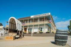 Beaux hôtel et restaurant cosmopolites dans l'ol historique Photos stock