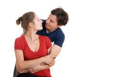 Beaux jeunes couples Images stock