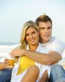 Beaux jeunes couples image libre de droits