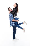 Beaux jeunes couples Photo libre de droits