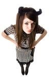 beaux jeunes de brunette Photo libre de droits