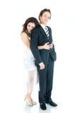 beaux jeunes de couples Photographie stock libre de droits