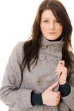 beaux jeunes de femme de verticale Image libre de droits