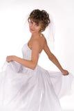 beaux jeunes de verticale de mariée Photo libre de droits
