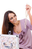 Beaux jeunes femmes avec le bijou Images stock