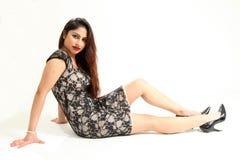 beaux jeunes indiens de dame Photo libre de droits