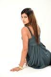 beaux jeunes indiens de dame Image libre de droits