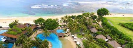 Beaux lieu de villégiature luxueux et bord de la mer Photos stock