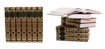 Beaux livres Photos stock
