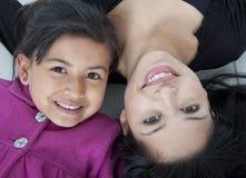 Beaux mère et daugther Images libres de droits